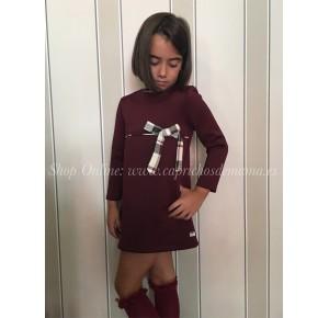 Vestido niña de Eve Children neopreno granate