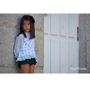 Sudadera y bombacho niña Iris de Noma Fernández
