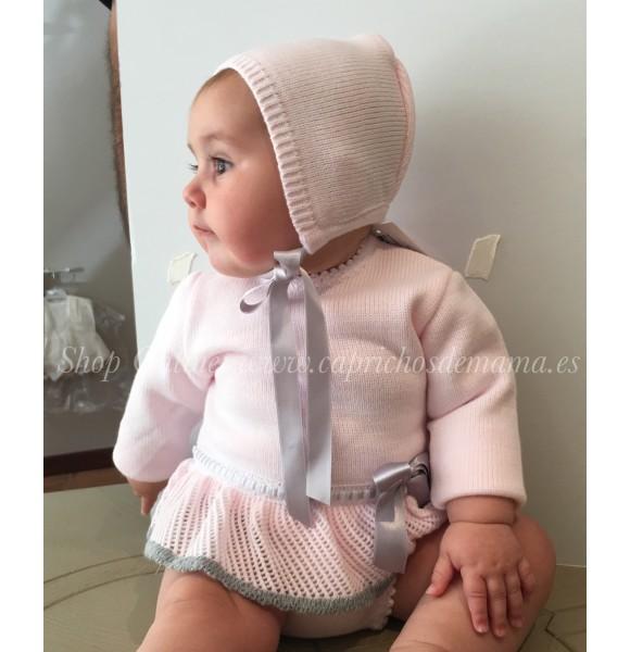 Jesusito bebé niña de Nini de punto