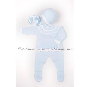 Conjunto de polaina bebé de Carmen Taberner