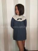 Vestido niña de Eve Children azul marino