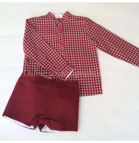 Conjunto de pantalón niño de La Martinica Napoleón