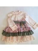 Vestido niña de Lapeppa Moda Infantil sobrefalda