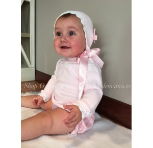 Conjunto cubre bebé de Carmen Taberner