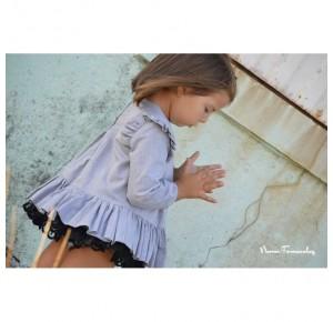 Vestido para niña Galia de Noma Fernández