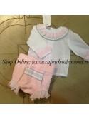 Camisa y braguita niña Princess de Kauli