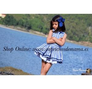 Vestido niña Navy de Noma Fernández