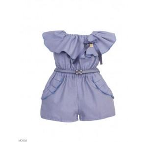 Mono niña de Eve Children azulón