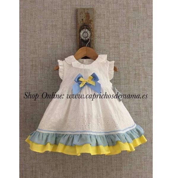 Vestido bebé niña Dalia de Yoedu