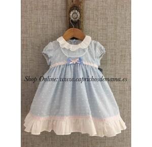 Vestido bebé niña Alicia de Yoedu