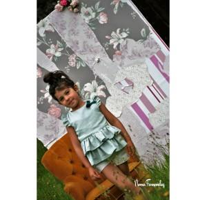 Blusón y short niña Aitana de Noma Fernández