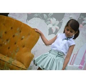 Camisa y falda Aitana de Noma Fernández