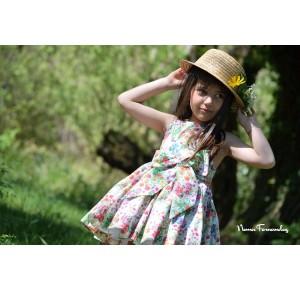 Vestido niña Floral de Noma Fernández
