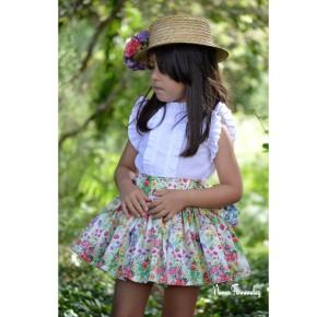 Camisa y falda Floral de Noma Fernández