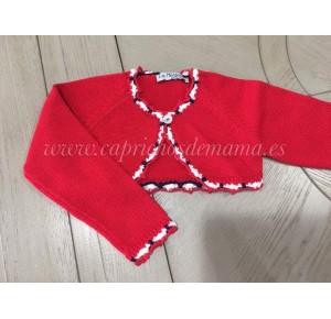 Chaqueta niña Pimentón de La Martinica roja