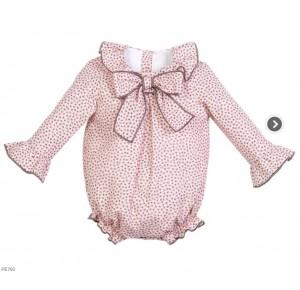 Pelele bebé niña de Eve Children estrellas rosa