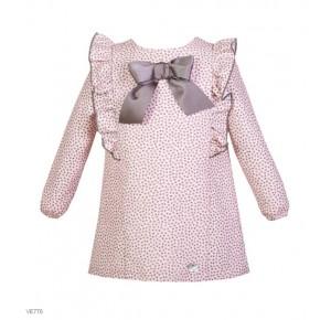 Vestido niña de Eve Children mini estrellas rosa