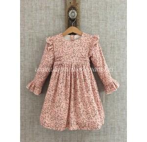 Vestido niña de Baby Yiro estampado floral