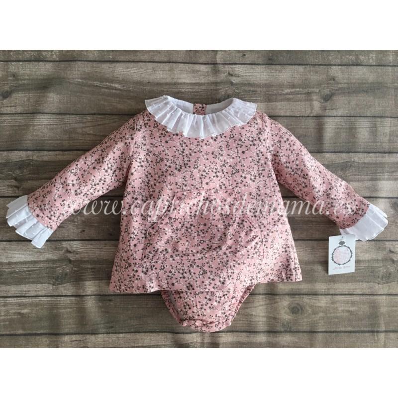 49d29652f8d Conjunto bebé niña de Baby Yiro etampado floral ...