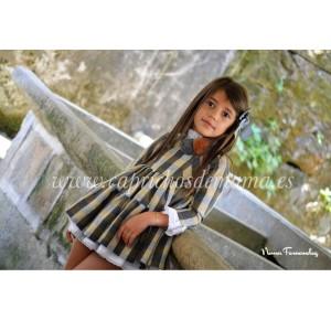 Vestido niña Oro Vechio de Noma Fernández