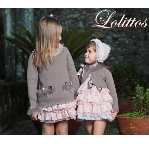 Vestido niña Campanilla de Lolittos 2 en 1