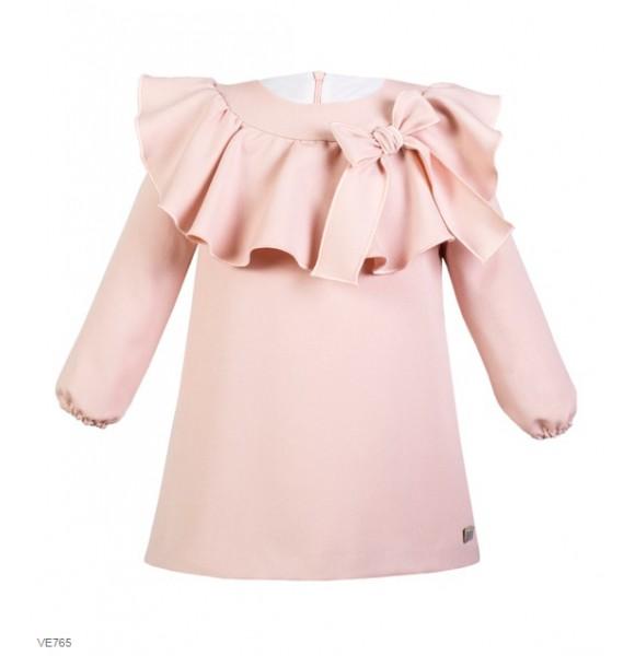 Vestido niña de Eve Children rosa empolvado