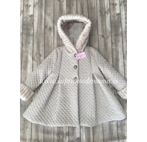 Abrigo niña Campanilla de Lolittos capucha