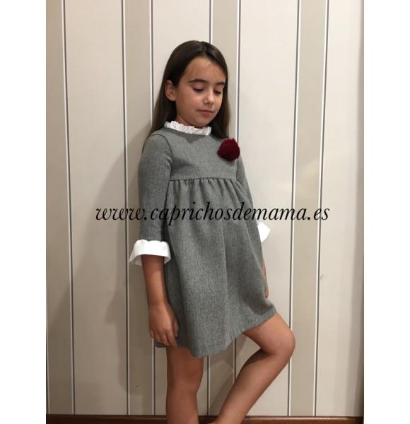 Vestido niña de Eve Children gris
