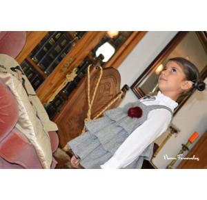 Pichi y camisa niña Nerea de Noma Fernández