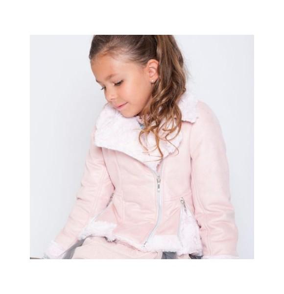 Cazadora niña Star de Kauli rosa