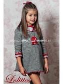 Vestido niña Soldadito de Plomo de Lolittos evasé