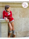 Conjunto bombacho niña Giselle de Eva Castro