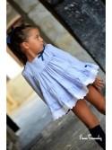 Abrigo niña de Noma Fernández vuelo azul marino