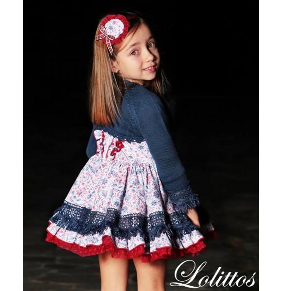 Vestido niña Aladdín de Lolittos
