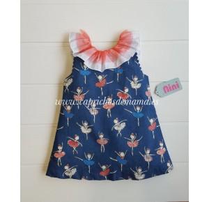 Vestido niña Bailarinas de Nini