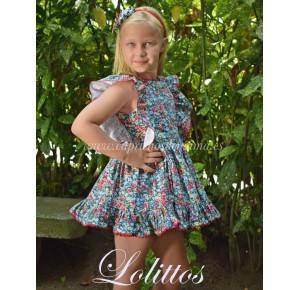 Vestido niña Frambuesa de Lolittos
