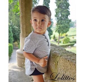 Camisa y rana bebé niño Juanola de Lolittos