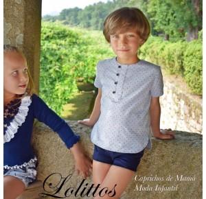 Conjunto niño recto Juanola de Lolittos