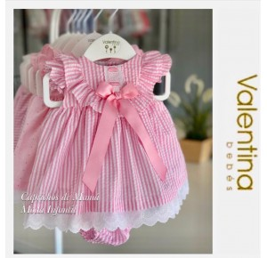 Jesusito bebé niña de Valentina Bebés a rayas