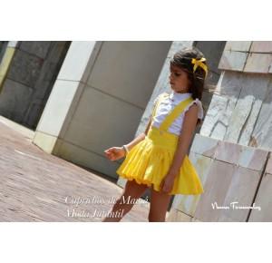 Camisa y falda niña Alice de Noma Fernández