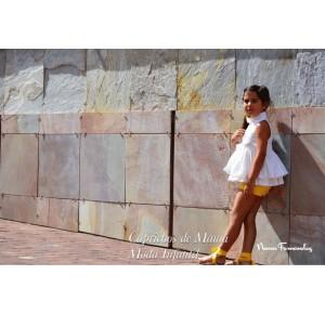 Camisa y short niña Alice de Noma Fernández