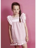 Vestido niña Santorini de Mami Maria rayas