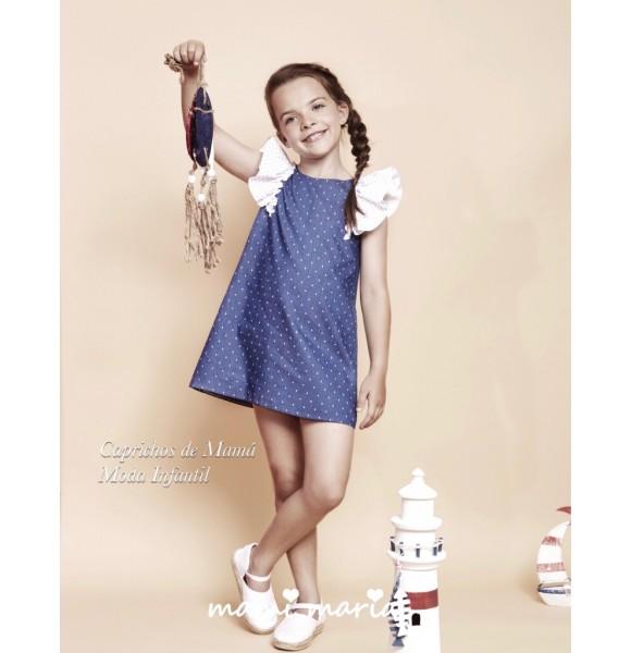 Vestido niña Capri de Mami Maria denim