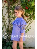 Conjunto bebé niño de Pilar Batanero denim