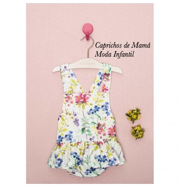 Ranita bebé niña de Pilar Batanero flores