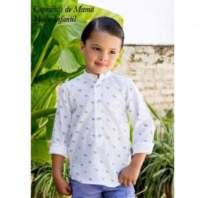 Camisa niño de Pilar Batanero cebras