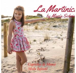 Vestido niña Carmela de La Martinica flores