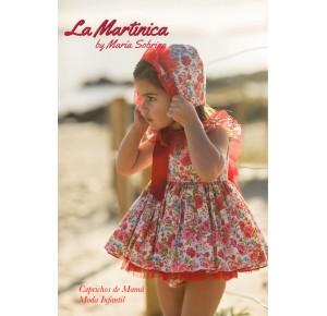 Jesusito bebé niña Carmela de La Martinica flores