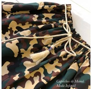 Falda niña de Mía y Lía camuflaje