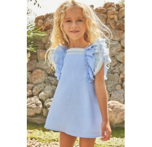 Vestido niña de Dadati azul